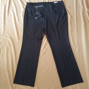 Worthington 18W Modern Fit Trouser Dress Pants
